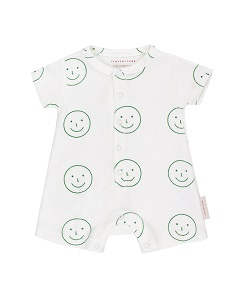 HAPPY FACE RELAXED ONE-PIECE_GREEN