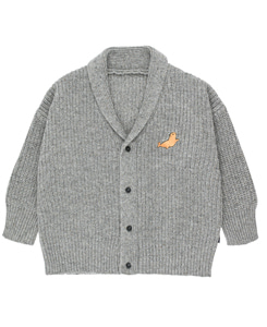 타이니코튼 LITTLE SEAL CARDIGAN_GREY